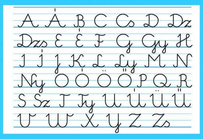 írott nagybetűk