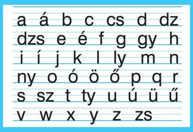 nyomtatott kisbetűk